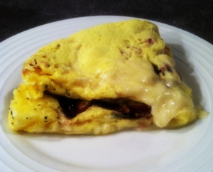 Smoked Duck Omelet